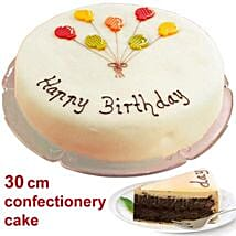 Large Poppy Seed Cake: Send Birthday Gifts to Germany