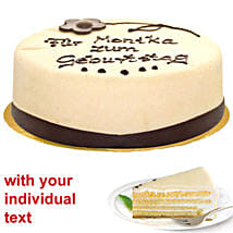 Marzipan Cake: Send Birthday Gifts to Germany