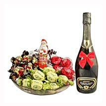 Sweet Me Up With Sparkling Wine: Christmas Gift Hampers to Germany