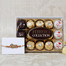 Veera Rakhi with Ferrero Rocher Collection: Rakhi to Dusseldorf