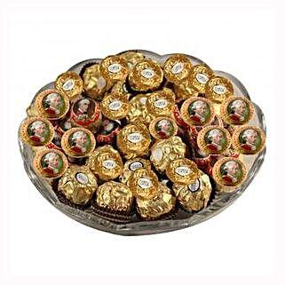 Mozart Rocher Platter: Send Gifts to Hungary