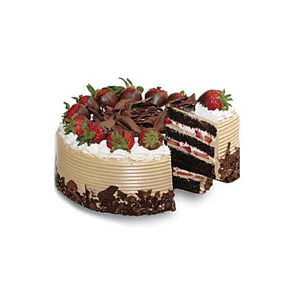 Choco n Strawberry Gateaux
