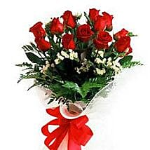 Bunch of 12 roses INDO: Congratulation Flowers to Indonesia