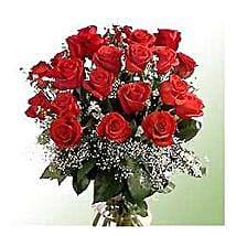 Bunch of 24 roses INDO: Send Romanic Gifts to Indonesia