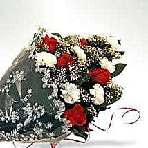 Bunch of Carnations n Roses INDO: Congrats Flower in Indonesia