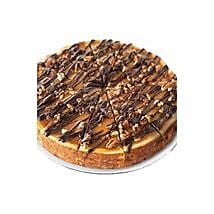 Choc Nut Cheesecake: Christmas Gifts to Indonesia