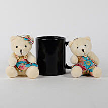 Mug Teddy Bears Combo: Valentine Gifts to Indonesia