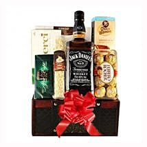 Jack Daniels Gift Basket: Send Gifts to Ireland