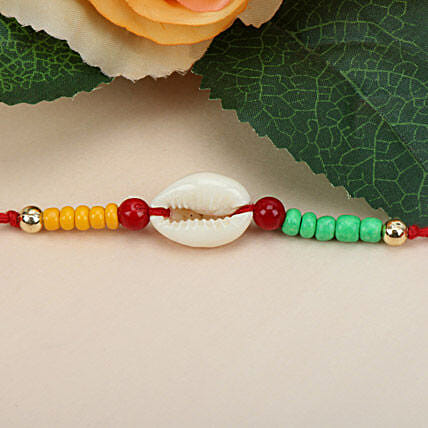 Sea Shell Charm Rakhi ITA