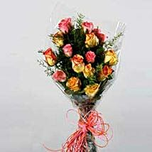 Seasonal Arrangement with Roses JAP: Send Gifts to Japan