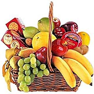 Cheese Crackers n Fruit Basket jor: Send Gifts to Jordan