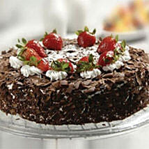 Black Forest Cake With Strawberry: Birthday Cakes to Kuwait