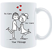 Couple In Love Personalized Mug: Gift Delivery in Kuwait
