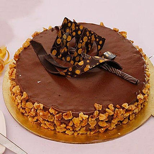 Affable Nutella Cake Half KG Eggless