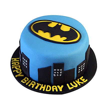 Batman N Gotham City Cake 2kg