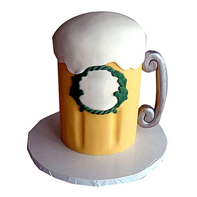 Beer Cake 4kg Eggless