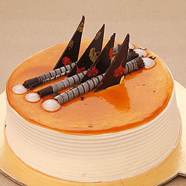 Blonde Caramel Cake 1KG Eggless
