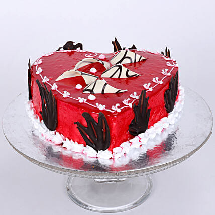 Blossoming Love Cake 1kg Vanilla Eggless