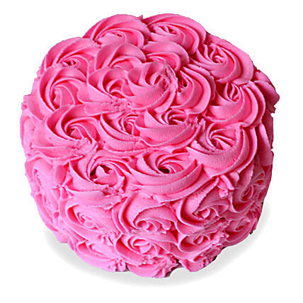 Brimming With Roses Cake 3kg Eggless Butterscotch