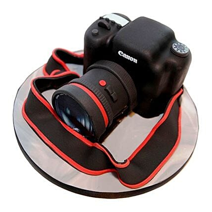 Camera Cake 3kg Eggless