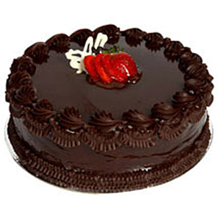 Chocolate Delight Cake - Five Star Bakery 1kg Eggless