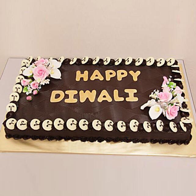 Chocolate Frenzy Diwali Cake 1kg