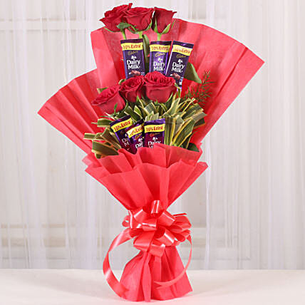 Gift Chocolate Roses Bouquet