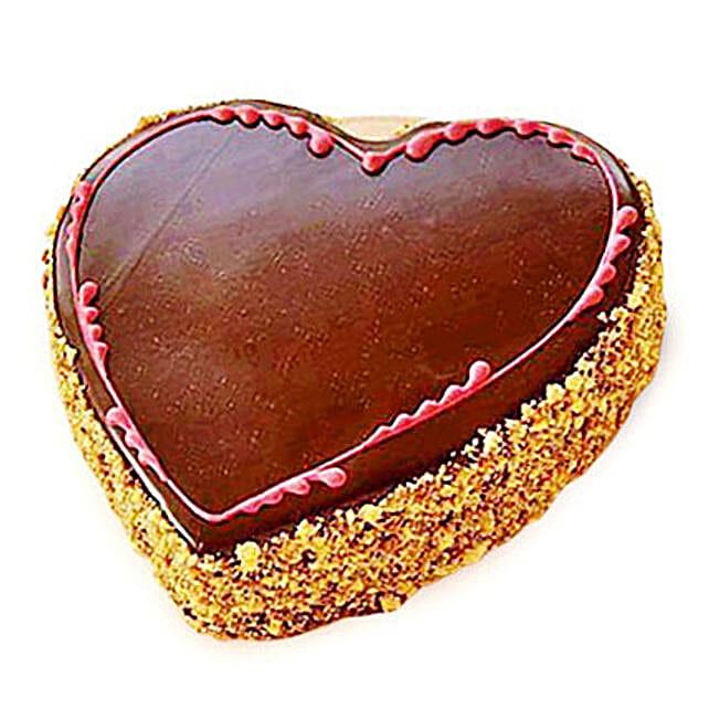 Chocolaty Heart Cake 1kg