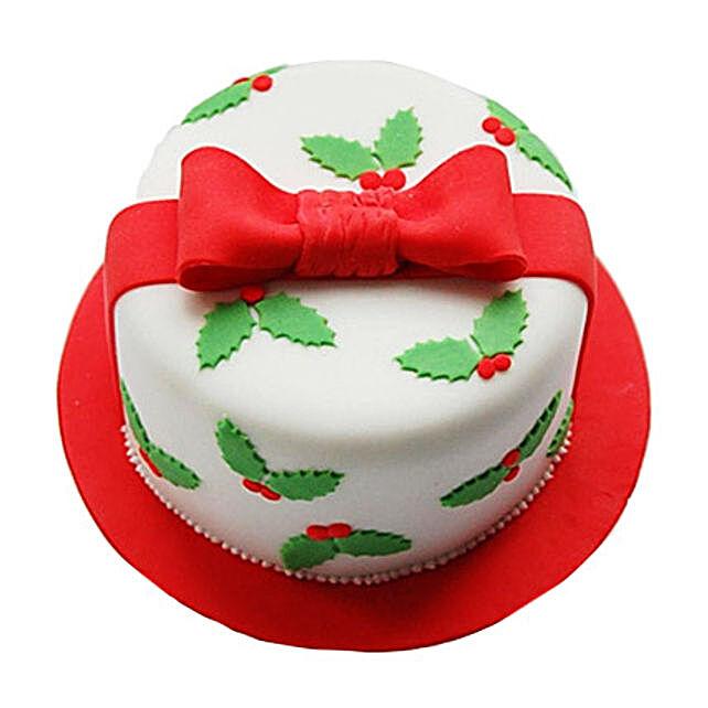 Christmas Gift Cake 1kg Eggless