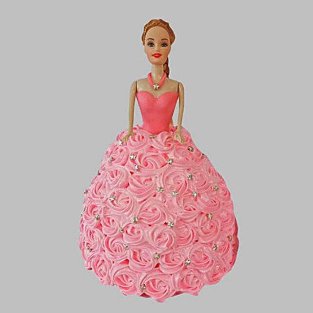 Classy Barbie Cake Truffle 3kg