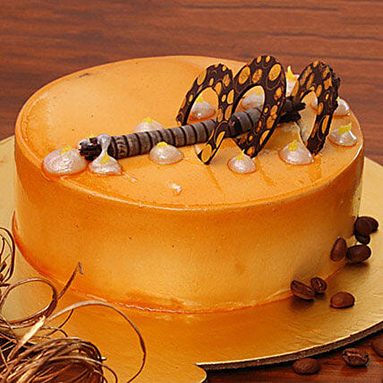 Coffee Addiction Cake 1KG Eggless