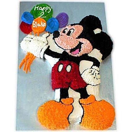 Creamy MM with Balloons 2kg Eggless Butterscotch