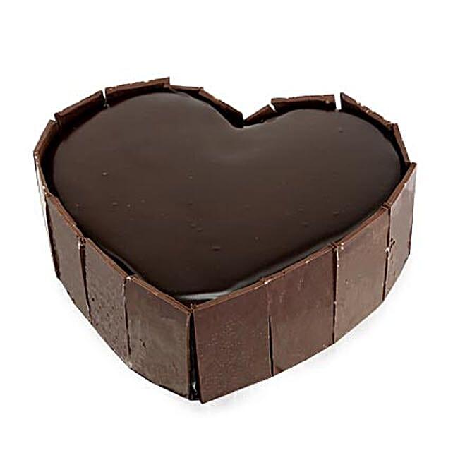 Cute Heart Shape Cake Half kg