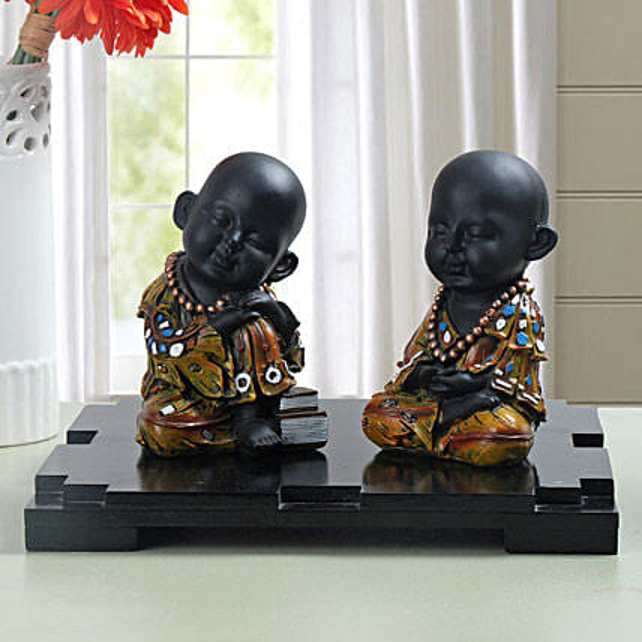 Decorative Monks