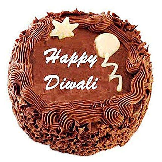 Deepavali Chocolate Cake 1kg Eggless