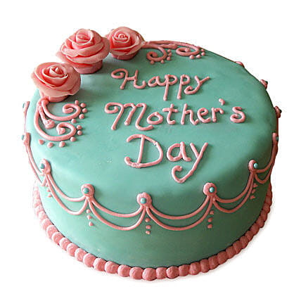 Delectable Mothers Day Cake 3kg Eggless Butterscotch