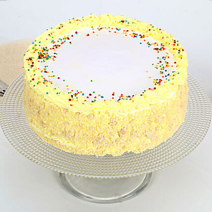 Delicious Butterscotch Cake 1kg Eggless