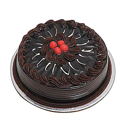 Eggless Chocolate Truffle Cake 2kg by FNP