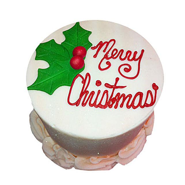Elegant Christmas Cake 3kg Eggless