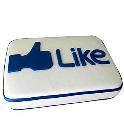 Facebook Customized Cake 2kg by FNP
