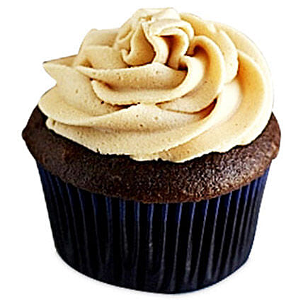 Frosted Peanut Butter Cupcakes 6