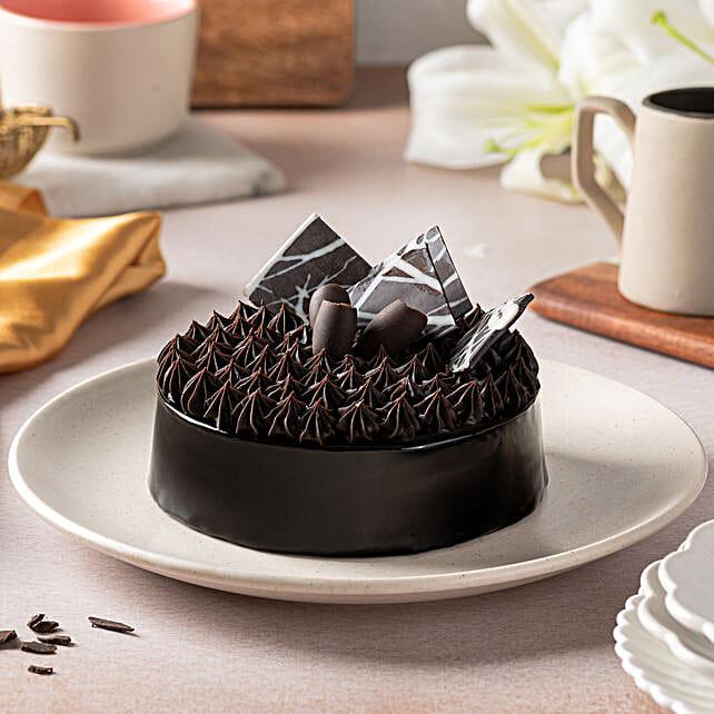 Fudge Brownie Cake 2kg Eggless