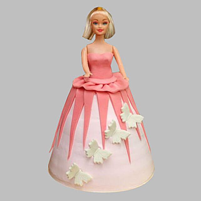Gorgeous Barbie Cake 2Kg Chocolate