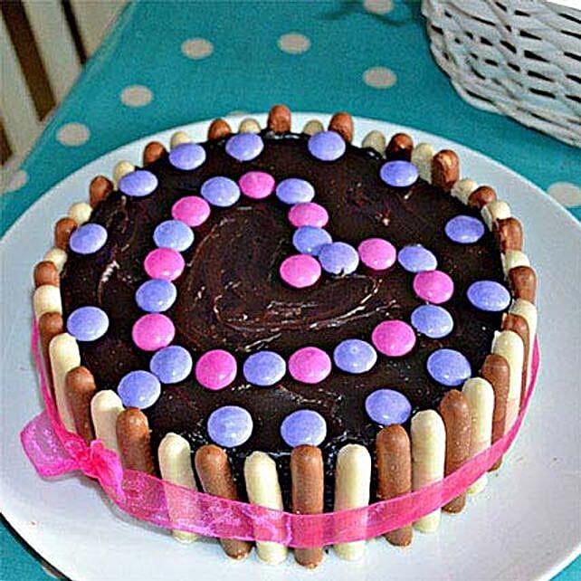 Heartful Delight Cake 2kg Eggless