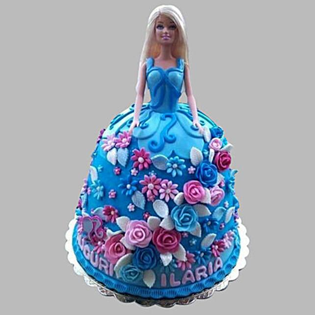 Heavenly Barbie Cake 3kg