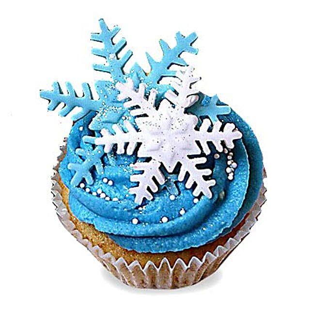 Iced Christmas Cupcakes 6