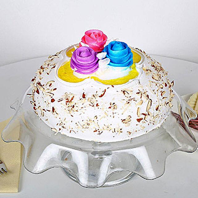 Italian Almond Cake 2kg Eggless
