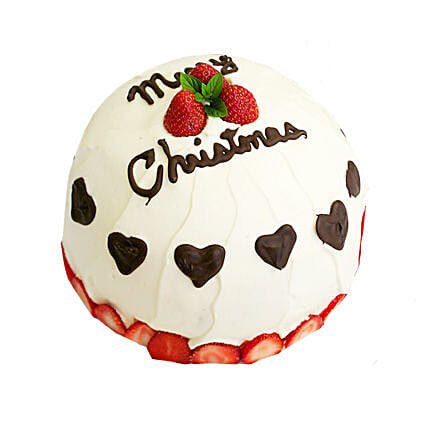 Japanese Christmas Cake 2kg Eggless