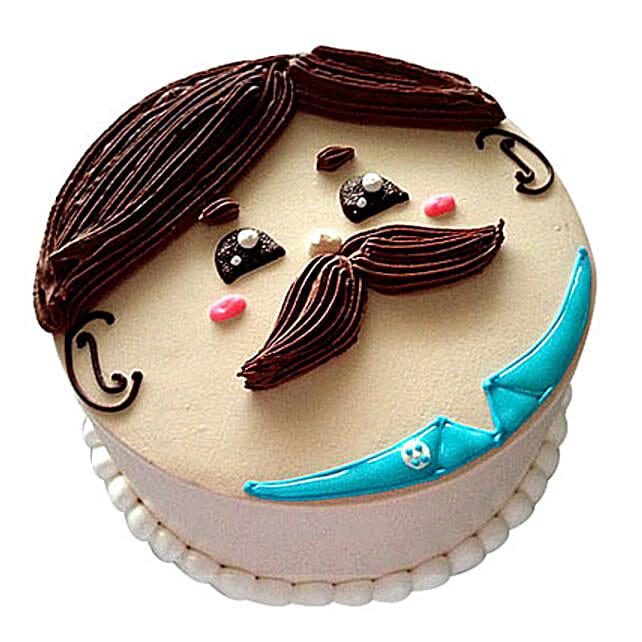 Lovely Designer Cake 3kg Vanilla Eggless