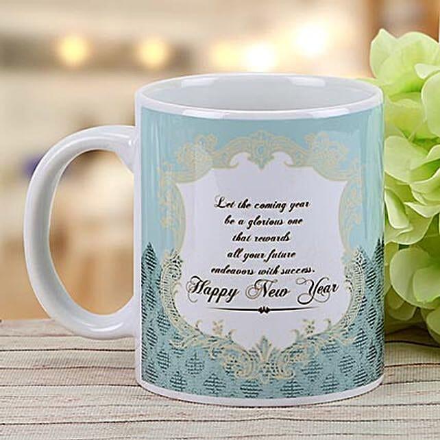 New Year Wishes Mug